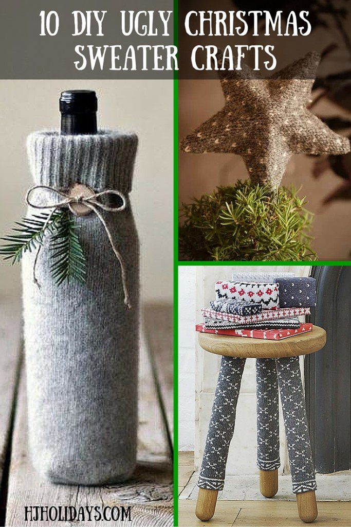 10 DIY Ugly Christmas Sweater Crafts