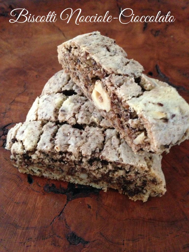 Biscotti Nocciole Cioccolato