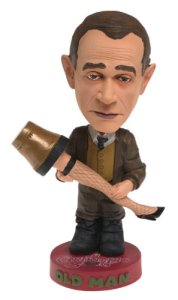 Click to open expanded view Christmas Story Old Man Head Knocker