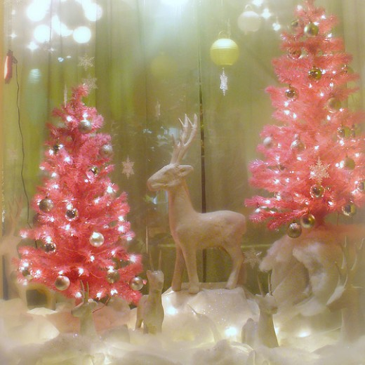 Pink Christmas Decorations | I'm Dreaming of a Hot Pink Christmas