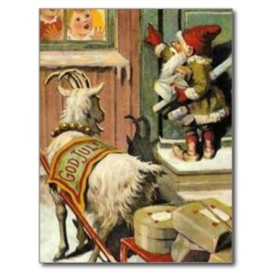 Tomte Nisse, aka Santa Claus