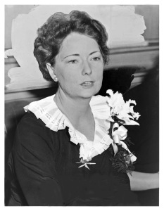 Margaret Mitchell, the author of Gone With the Wind, in 1941.