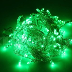 DODO 10M 100 LED String Fairy Light for Wedding Christmas and Party (Green) | Holly Jolly Holidays