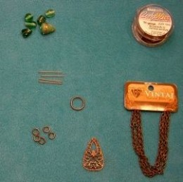 Mother Necklace Step 2: Assemble Your Supplies
