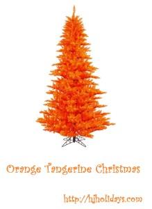 Orange Tangerine Christmas