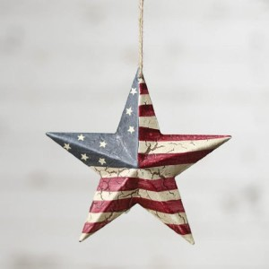 Patriotic Christmas Ornaments