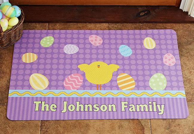Easter Doormats to Welcome Spring