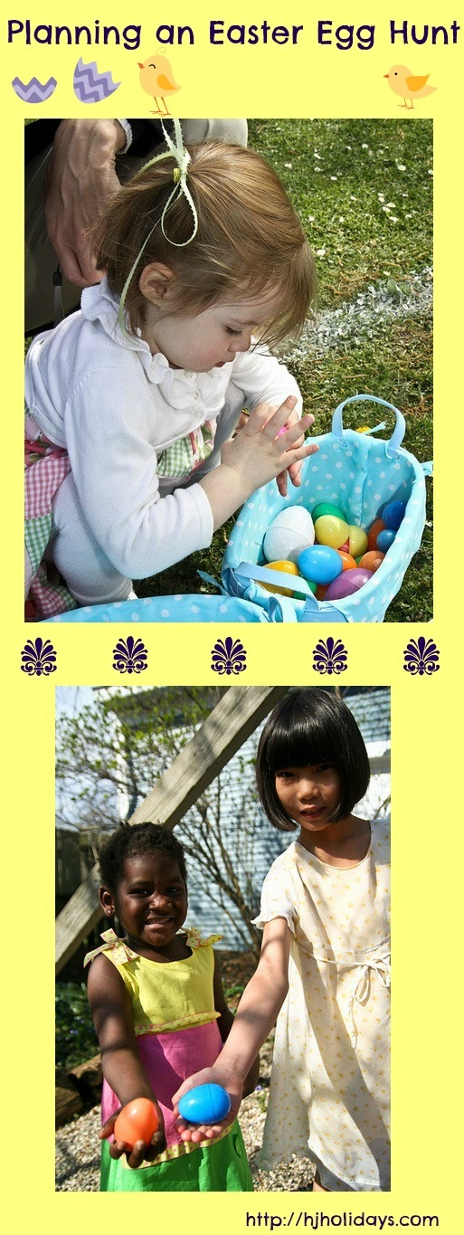 Planning an Easter Egg Hunt | http://hjholidays.com