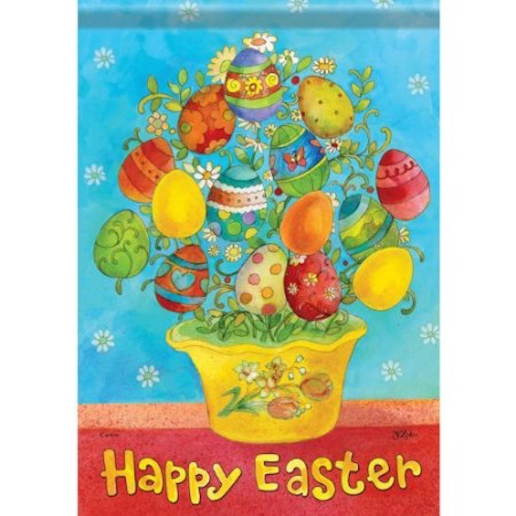 Easter Yard Decorations | http://hjholidays.com