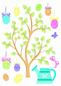 Easter Window Decal | http://hjholidays.com