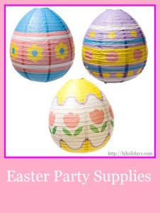 Easter Party Supplies | http://hjholidays.com