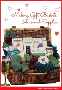 Making gift baskets | Ideas and supplies