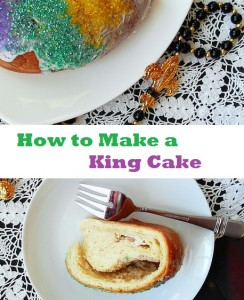 How To Make A King Cake for a Mardi Gras Celebration