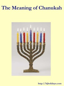 The Meaning of Chanukah