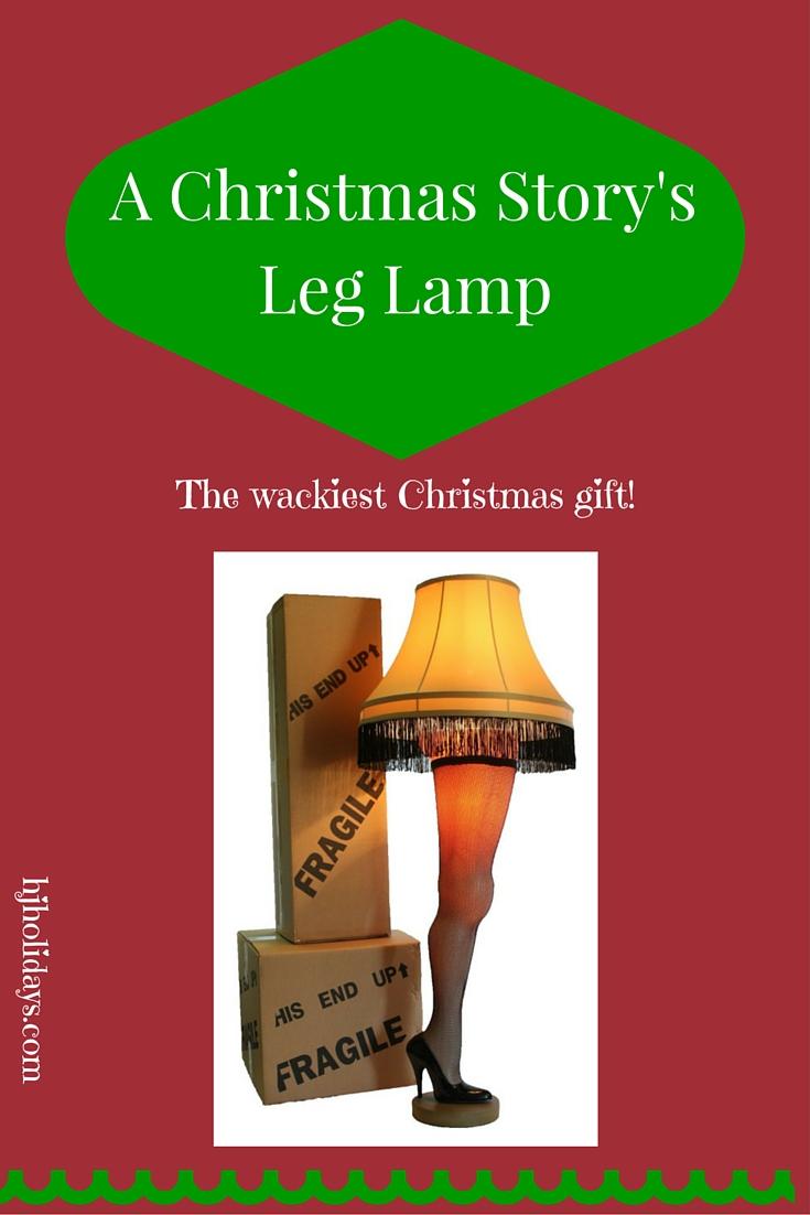 A Christmas Story's Leg Lamp
