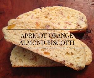 Apricot Orange Almond Biscotti Recipe
