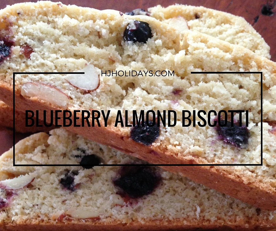 BLUEBERRY ALMOND BISCOTTI