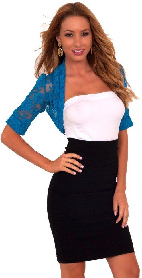 Blue Lace Shrug