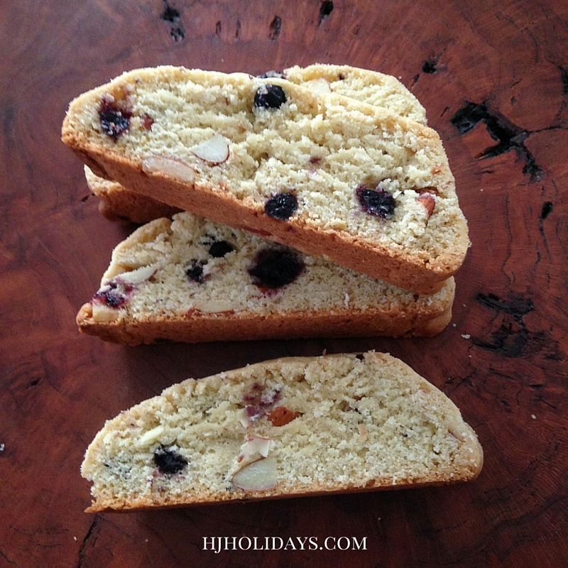 Blueberry Almond Biscotti Recipe
