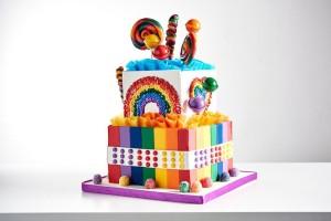 Candy Bin Cake