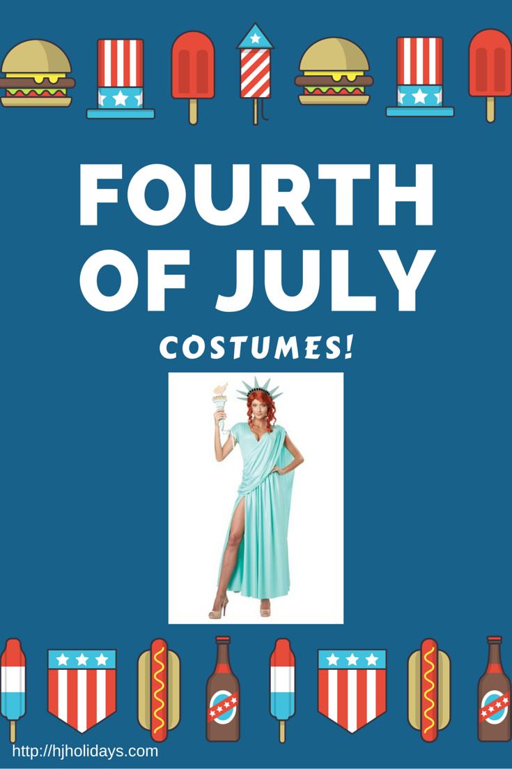 Celebrate July 4th In Patriotic Costume