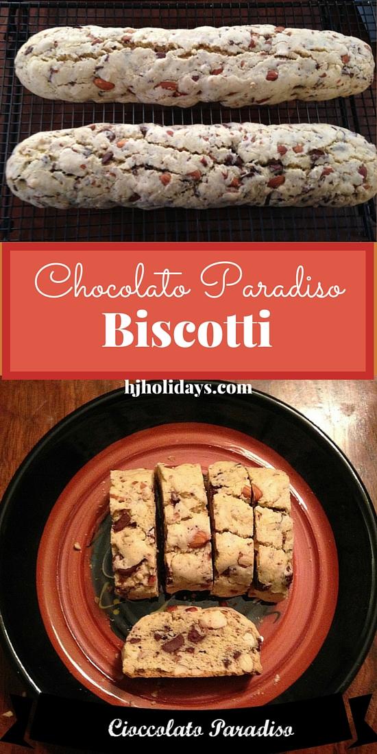 Chocolato Paradiso Biscotti