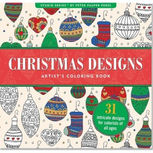 Christmas Coloring Books for Adults and Teens