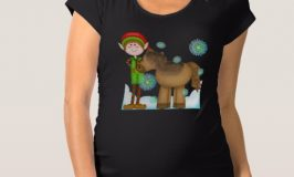 Attractive and Funny Maternity Shirts for Christmas