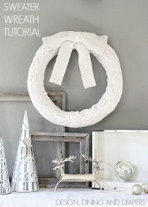 Christmas Sweater Wreath
