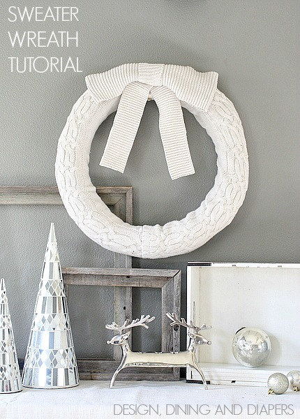 Christmas Sweater Wreath