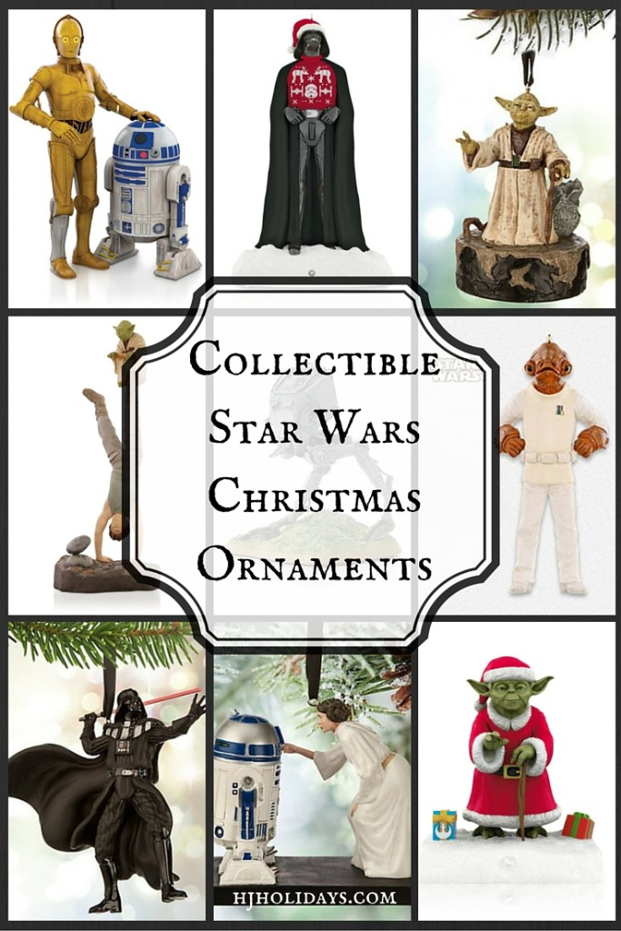 Collectible Star Wars Christmas Ornaments