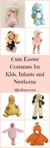 Cute Easter Costumes for Kids, Infants and Newborns