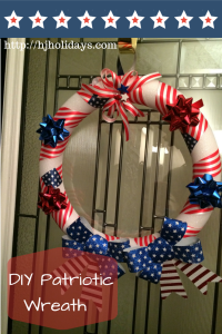 DIY Patriotic Wreath Craft Tutorial