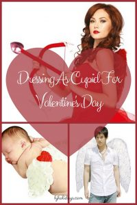 Dressing As Cupid For Valentines Day