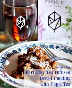 Earl Grey Tea Infused Bread Pudding