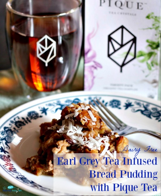 Earl Grey Tea Infused Bread Pudding