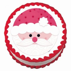 Edible Christmas Decorations for Cakes, Cookies and Cupcakes