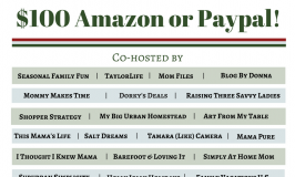 Enter to Win December $100 Amazon or Paypal Holiday Giveaway