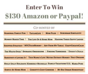 Exciting New Thanksgiving $130 Giveaway!