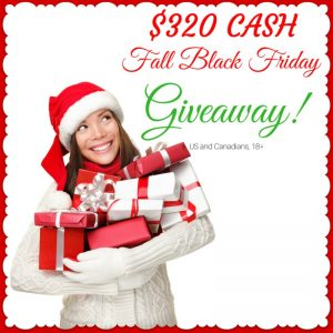 2016 Fall Black Friday Giveaway!