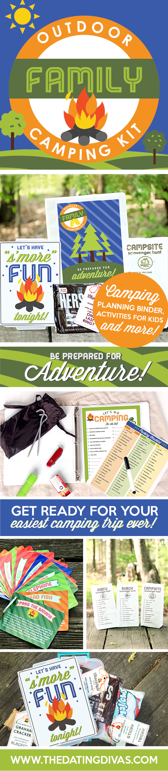 Family Camping Kit Printables