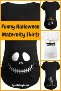 Funny Maternity Shirts for Halloween