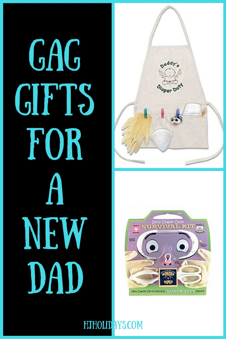 Gag Gifts for a New Dad