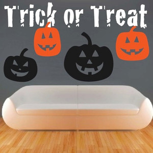 One-of-a-Kind Halloween Wall Decals