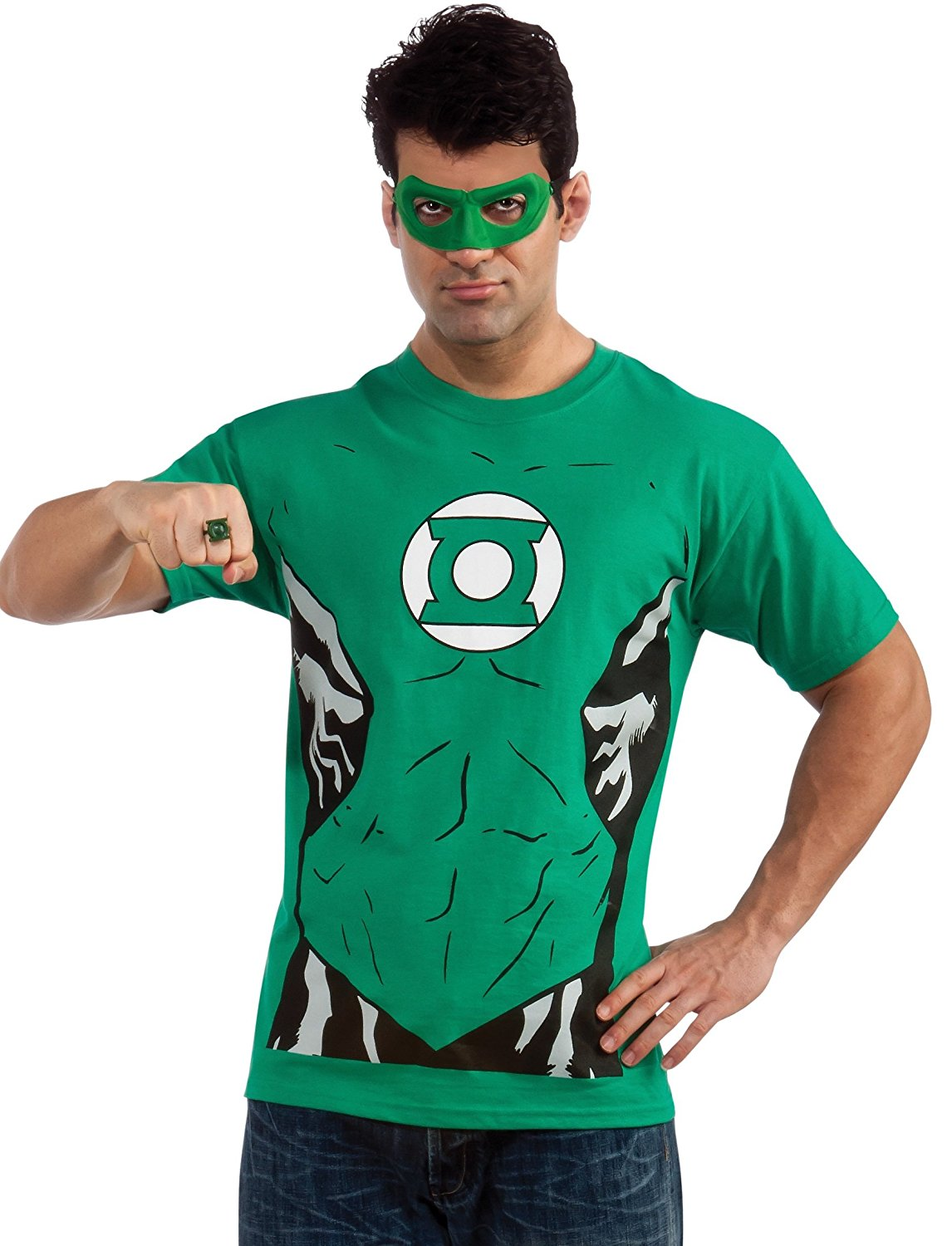 Superhero Costume Character T-Shirts for an Easy Halloween Costume