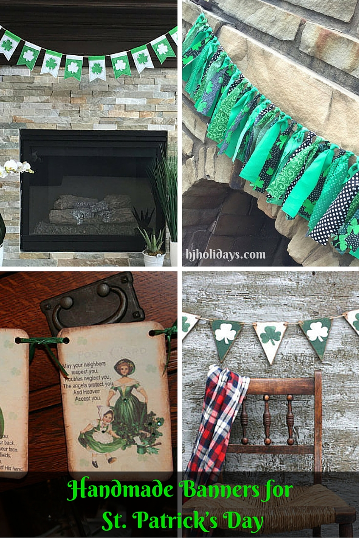 Handmade Banners for St. Patricks Day