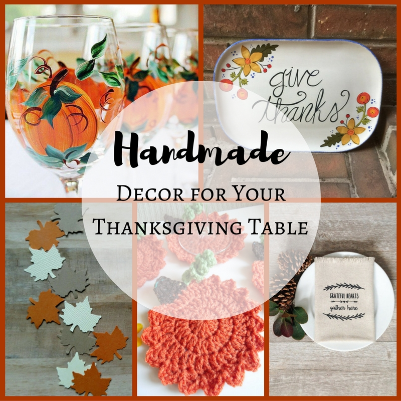 Handmade Decor for Your Thanksgiving Table