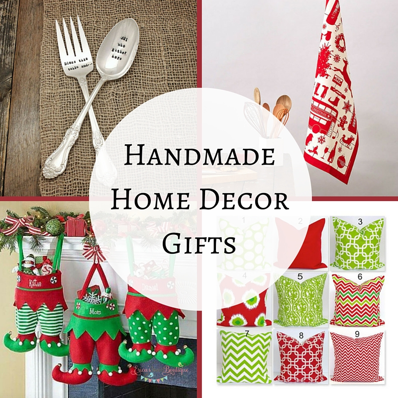 Handmade Home Decor Gifts