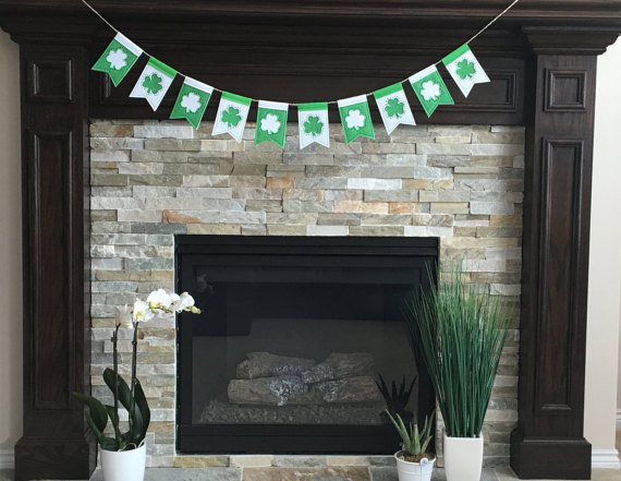 Handmade Banners for St. Patrick's Day
