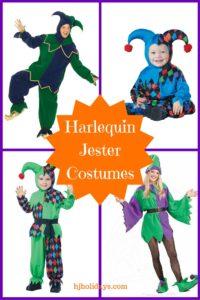 Harlequin Jester Costumes